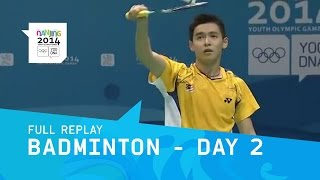Badminton - Men