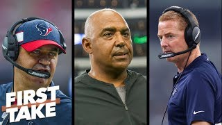 NFL coaches on the hot seat: Jason Garrett, Bill O