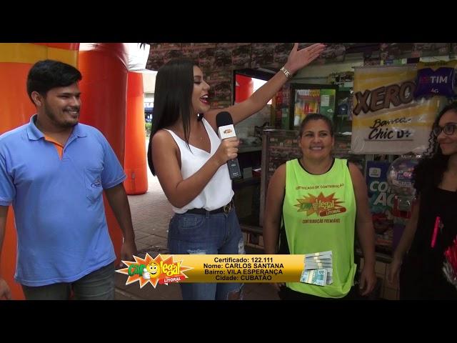 José, de São Vicente e Carlos, de Cubatão, levaram R$ 2.5000,00 (cada)
