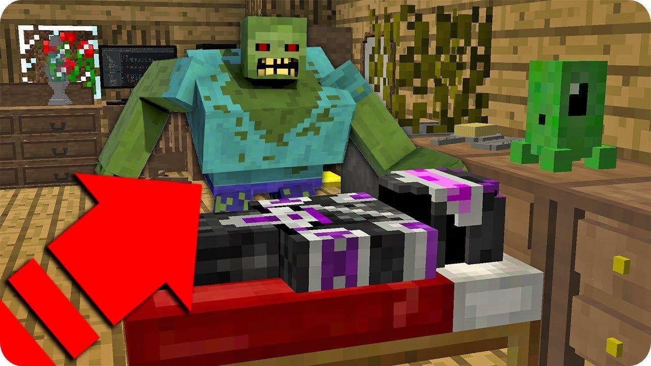 Trolleo A Youtuber Disfrazado De Zombie En Minecraft Massi