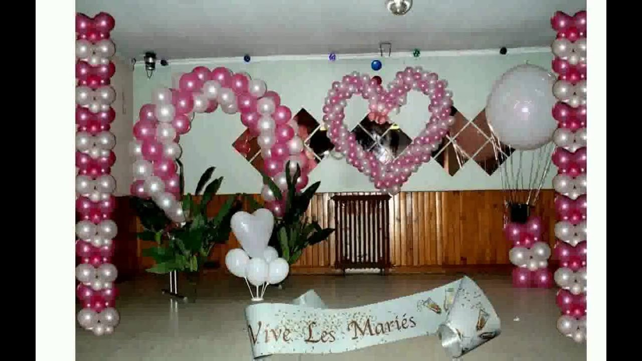 D co salle mariage youtube for Decoration salle mariage