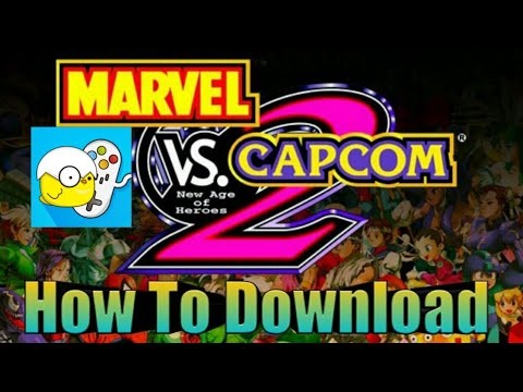 How To Download [Marvel Vs Capcom 2] For Android!? Using