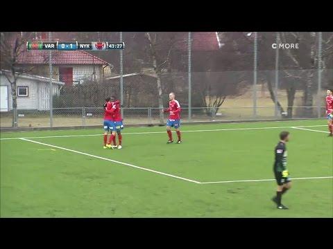 Förre AIK-talangen målade när Nyköping kryssade mot Varberg - TV4 Sport
