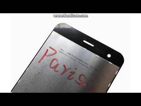 Original Paris X Touch screen LCD Display for Ulefone Paris mobile phone