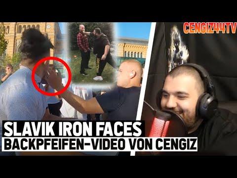 Cengiz44TV   Slavik Iron Faces mit KO Schelle
