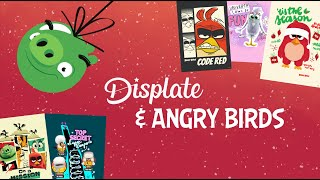 Special Christmas Offer on Angry Birds Displates!