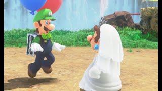 Luigi REACTS to Costumes in Super Mario Odyssey
