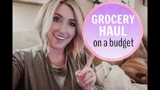 HUGE GROCERY HAUL! | ON A BUDGET | Summer Whitfield
