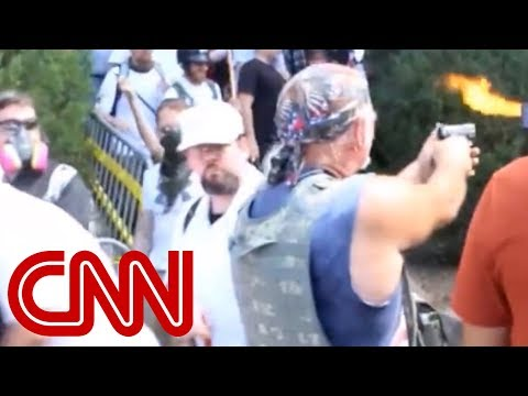 KKK grand wizard admits to shooting gun at black protester