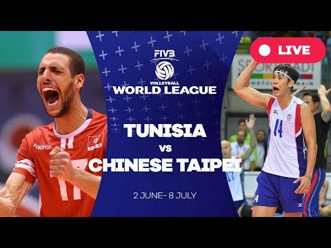 Tunisia v Chinese Taipei - Group 3: 2017 FIVB Volleyball World League