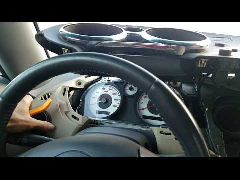 How to Remove Speedometer Cluster from Pontiac Solstice 2006 for Repair.