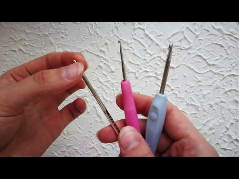 каким крючком нужно вязать обзор крючков/ какой крючок выбрать для вязания/ инструменты для вязания