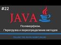 Java SE. Урок 22. Полиморфи