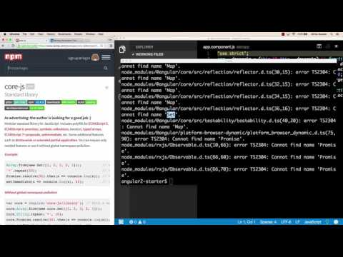 Angular 2 with Webpack Project Setup - Part 2: TypeScript Compiler and Typings