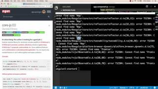 angular 2 with webpack project setup part 2 typescript compiler and typings