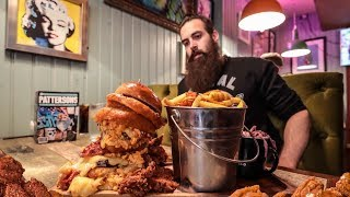 THE QUADRUPLE BYPASS BURGER CHALLENGE | The Chronicles Of Beard Ep.120