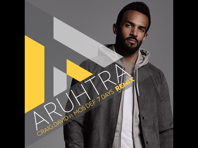 7 Days -Craig David ft Mos Def- Aruhtra EDIT