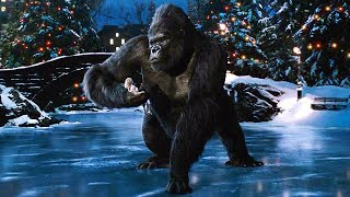 Kong and Ann Ice Skating in Central Park - King Kong (2005) Movie Clip HD