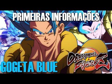 Primeiras informações do GOGETA BLUE   Dragon Ball FighterZ