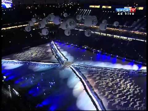 Cerimônia de inauguração Arena do Grêmio completa