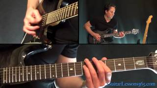 Welcome Home (Sanitarium) Guitar Lesson - Metallica - Intro & All Chords/Rhythm Guitar Parts