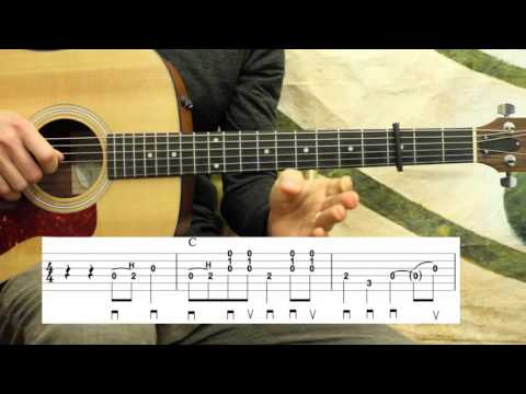 East Virginia Blues - Carter Style Guitar Lesson -