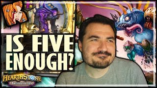 WILL 5 AMALGADONS BE ENOUGH?! - Hearthstone Battlegrounds