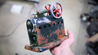 I Bought a Faulty STEAM ENGINE for Restoration. Can I Get It Running Again?