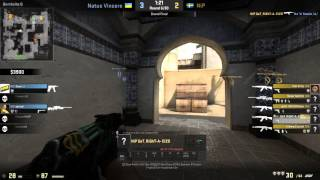 Example of a lurk play in CS:GO