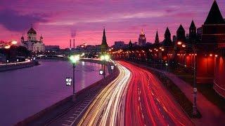 Ночная Москва. Путешествие под нежную музыку