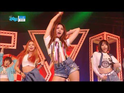 【TVPP】 EXID – L.I.E , 이엑스아이디 – 엘아이이 @Comeback Stage, Show Music Core