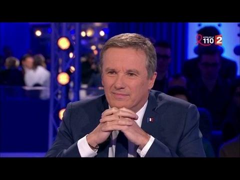 Nicolas Dupont-Aignan - On n'est pas couché 25 mars 2017 #ONPC