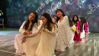 Ajyal Al Falah Grade 6 and 7 students on Heritage Dress Show