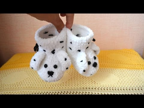 How To Make Soft  And Plush Baby Booties - DIY Style Tutorial - Guidecentral