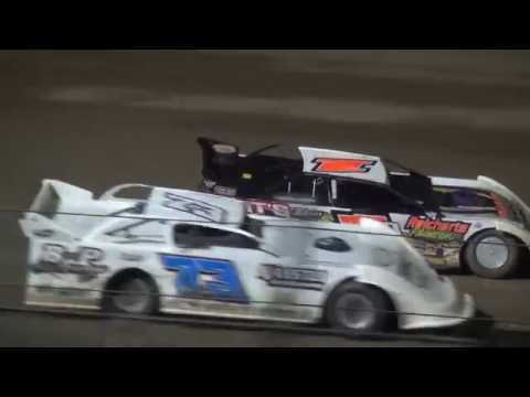 IMCA Late Model feature Independence Motor Speedway 7/16/16