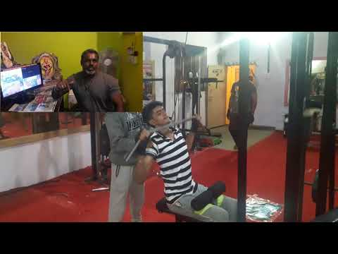 Kgf Krish gym available facilities introduction(Tamil) by G.kannan B.A,. Master