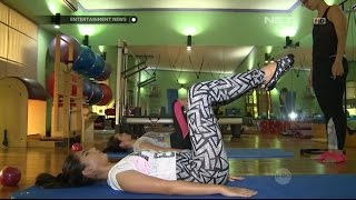 Jessica Mila Mulai Rutin Jalani Pilates Untuk Perbaiki Struktur Tulang Belakang