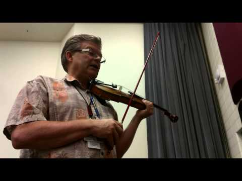 An American Suite #3 Country Rock Gardens 1st Violin part