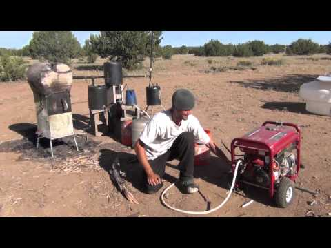 - My Wood Stove Runs A Generator - YouTube