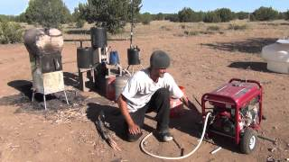 My Wood Stove runs a generator