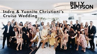 Indra & Yuanita Christiani's Wedding Cruise