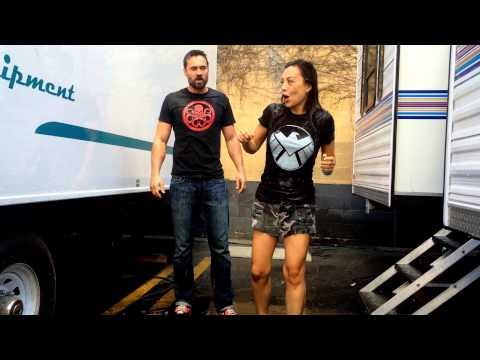 MingNa Wen & Brett Dalton Ice Bucket Challenge