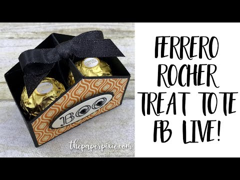 Ferrero Rocher Treat Tote - Facebook Live!