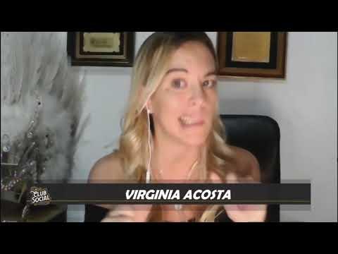 VIRGINIA ACOSTA EN CLUB SOCIAL