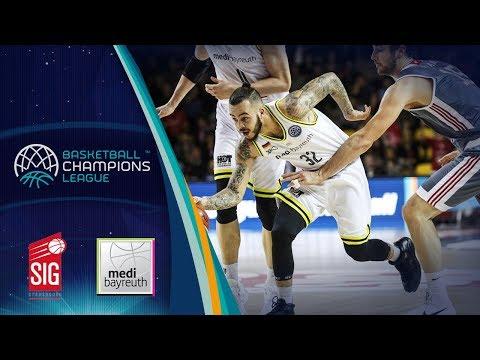 SIG Strasbourg v medi Bayreuth - Highlights - Basketball Champions League 2017-18
