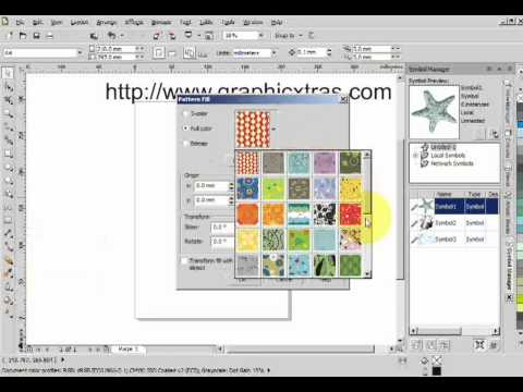 Importing eps files into coreldraw x5 tutorial youtube ccuart Gallery