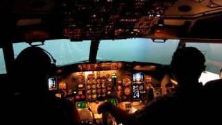Intercockpit MCC Boeing 737-300 Simulator Session 4
