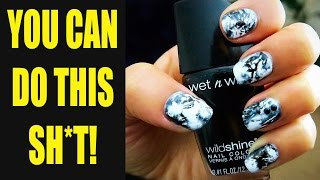 EASY AF Nail Art Tutorial!!!