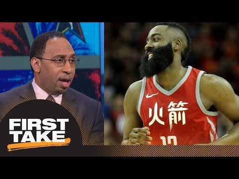 Stephen A. Smith on Rockets topping Warriors as No. 1 in West: Not a big deal | First Take | ESPN