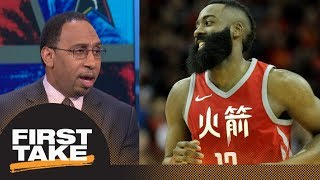 connectYoutube - Stephen A. Smith on Rockets topping Warriors as No. 1 in West: Not a big deal | First Take | ESPN